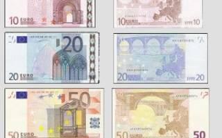 Какой знак у евро