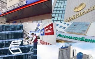 Какие банки преобладают в россии